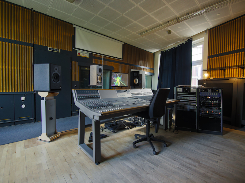 25 recording and production studios